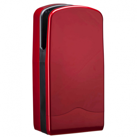 Suszarka do rąk V-JET Triblade Cherry red