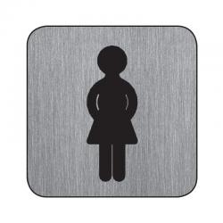 "Piktogram ""łazienka damska"""