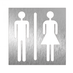 "Piktogram ""łazienka unisex"""