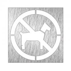 """Piktogram """"zakaz wprowadzania zwierząt"""""""